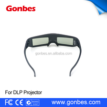 New Arrival Cheap bulk 144Hz DLP Projectors Active Shutter 3D Glasses