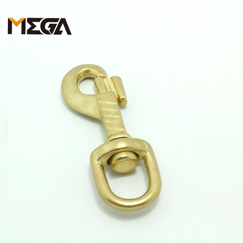 10 X BRASS bifurcated Key Ring Chain LeatherCraft Hardware  Luggage Accessor DIY