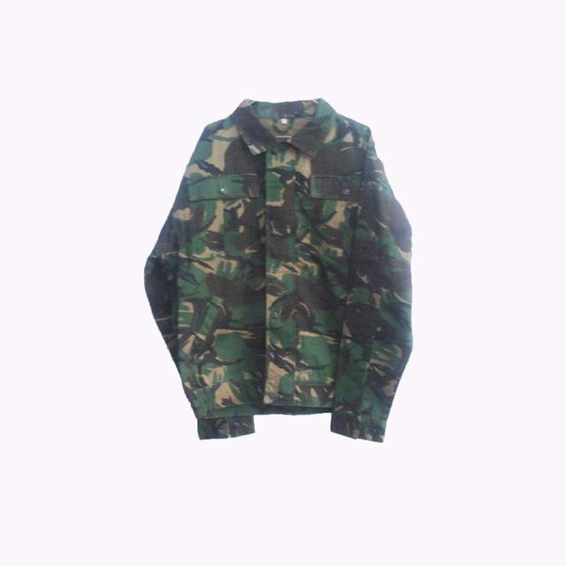 Army camouflage clothing