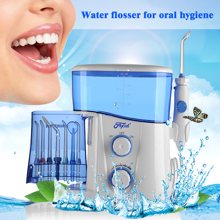 new design dental water flosser type orthodontic care kit