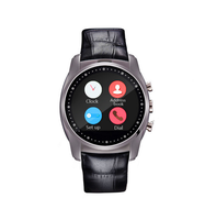 The first touchscreen round bluetooth smart watch phone with android/MIUI system