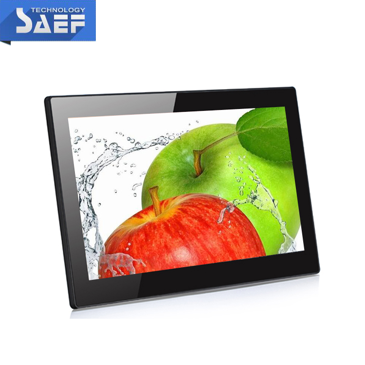 14 inch 1920*1080 full HD android with capacitive touch with RJ45 advertising display LCD