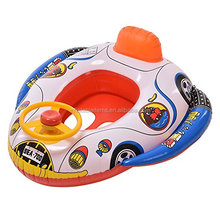 Baby inflatable float swim seat , inflatable baby seat in car shape