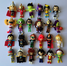 Superheroes voodoo dolls