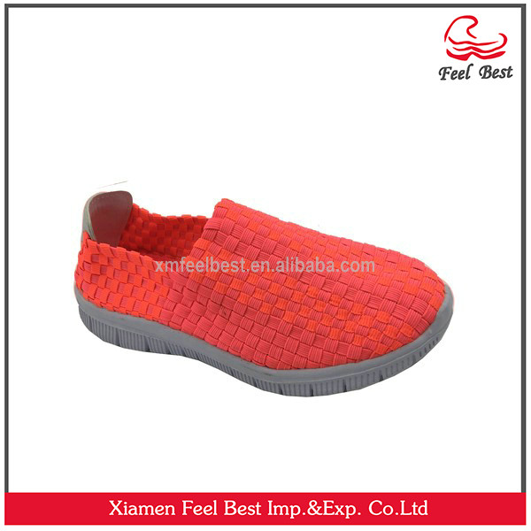 Women Woven Shoes Platform Sandals Walking Shoes