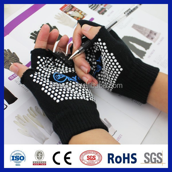 China wholesale 2015 online shopping pvc dots anti sweat glove