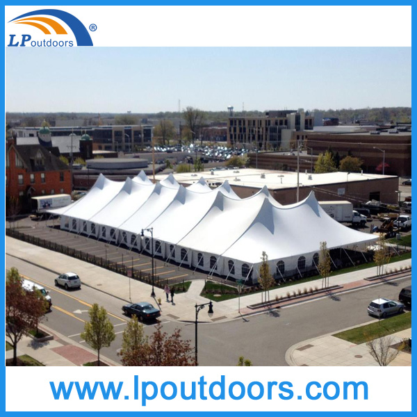 1000 seater huge party event marquee pole tent