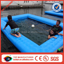 Convenient equipment blue Inflatable Pool for your Boat