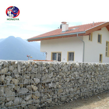 Best selling retaining wall baskets rock and wire retaining wall gabions for garden gabion
