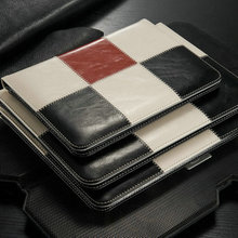 For iPad Case, vintage leather case for iPad 2/3/4case