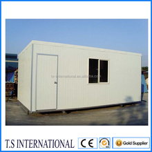 Easy & farst installation 20ft temporary site office for sale, 20ft container homes