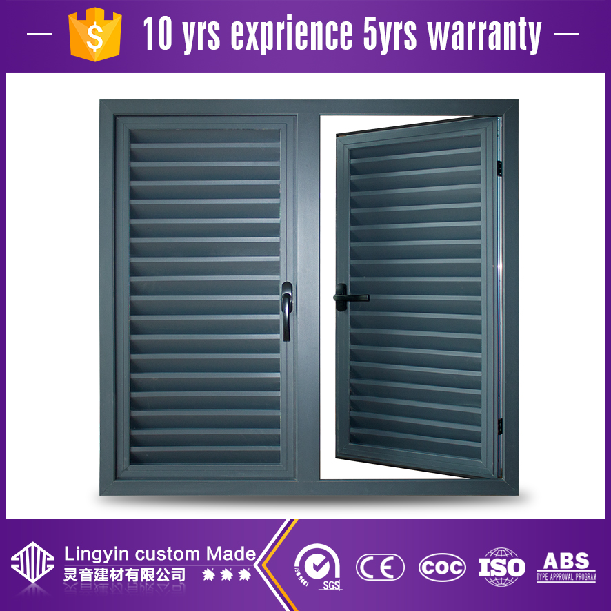 wholesale cheap price exterior aluminum security window shutter