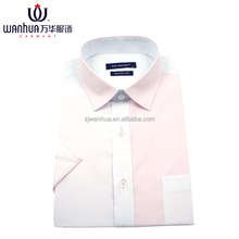 Office Wear Shirts For Men Slim Fit White Cotton Dress Casual shirt