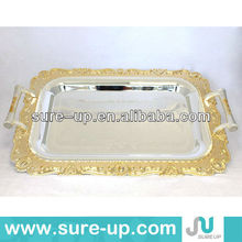 elegant india tea tray,tea serving tray,copper tray