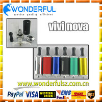new products for 2013 newest design vision vivi nova version transparent clearomizer ecigarette mini vivi nova v9 2ml