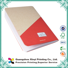 Perfect binding paper cookery books print colorful
