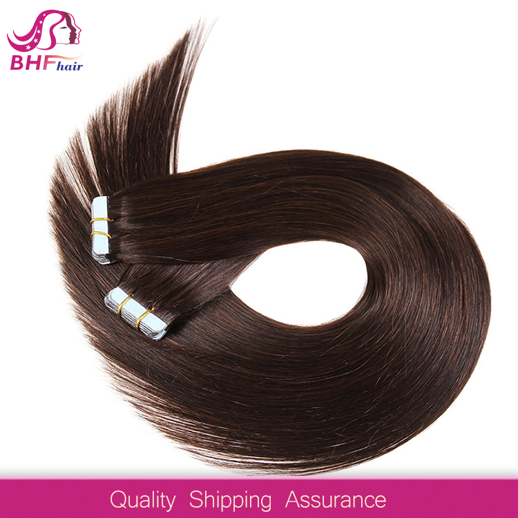 Long Lasting Full Ends 7A Russian Hair Tape Hair Extensions