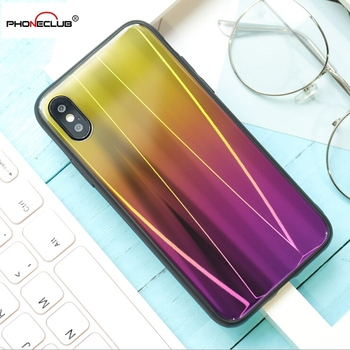 New Arrival glass cover, glass case glass phone back cover case for Iphone X