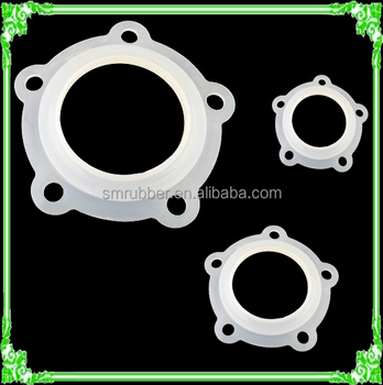 water heater clear silicone rubber sealing ring gasket