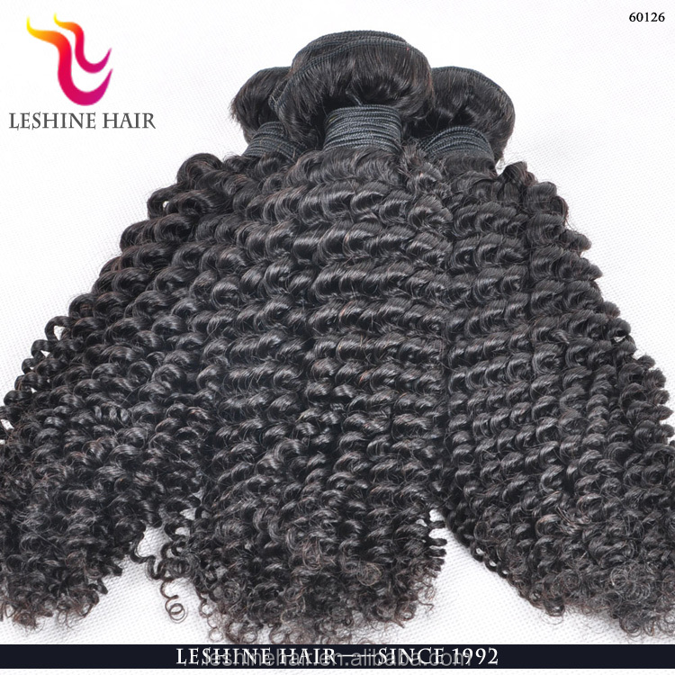 Cheap aliexpress hair 100% natural raw Brazilian Remy Human Hair Kinky Curly Weave