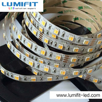 Waterproof white+warm white double color 5050 flexible led strip lights