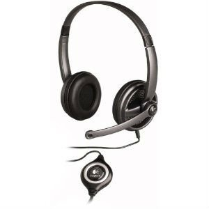 Logitech Clearchat Premium 350 USB Headset w/Mic 980374-0403