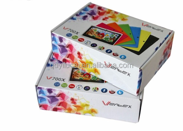Custom paper packaging box for ipad case