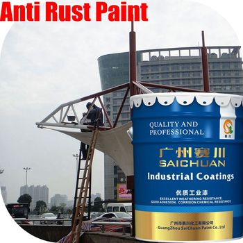 Fadeless high performance anti rust coating on steel components epoxy zinc-rich soft touch spray paint