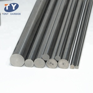 H6 cemented carbide solid ,one hole ,two hole  rod blank  with stable quality from zhuzhou tony carbide