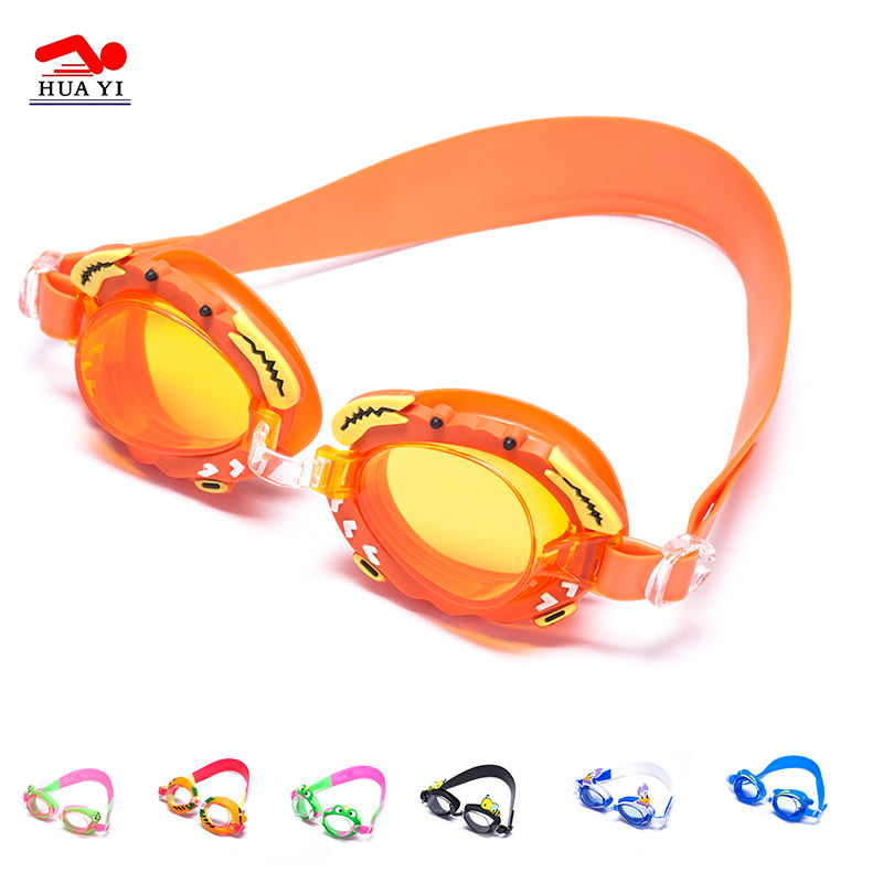New Arrival Top Grade Animal Cartoon Swimming Goggles Kids