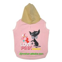 love is perfect hoodie pet (dog) clothes