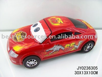 cartoon children's pull back formula car