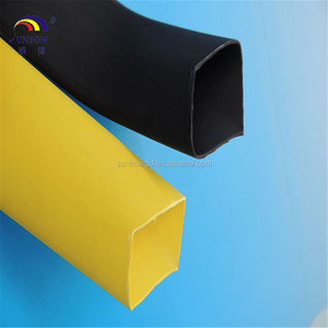 High voltage busbar heat shrinkable tube protective cover on bus bar