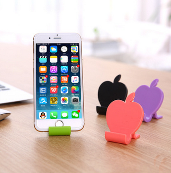 fruit shape cell phone holder mobile funny cell phone holder for desk