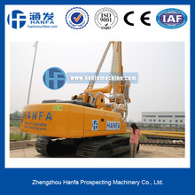 HF856A hydraulic rotary piling driver, for foundation piles