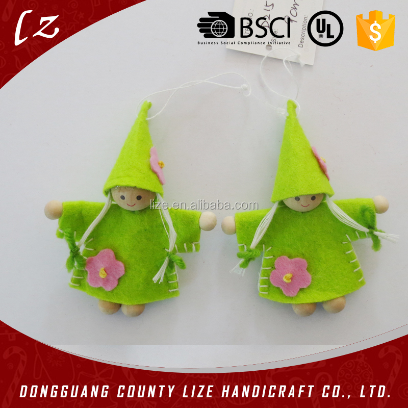 hot sale handicraft new products felt doll easter promotional items decoration