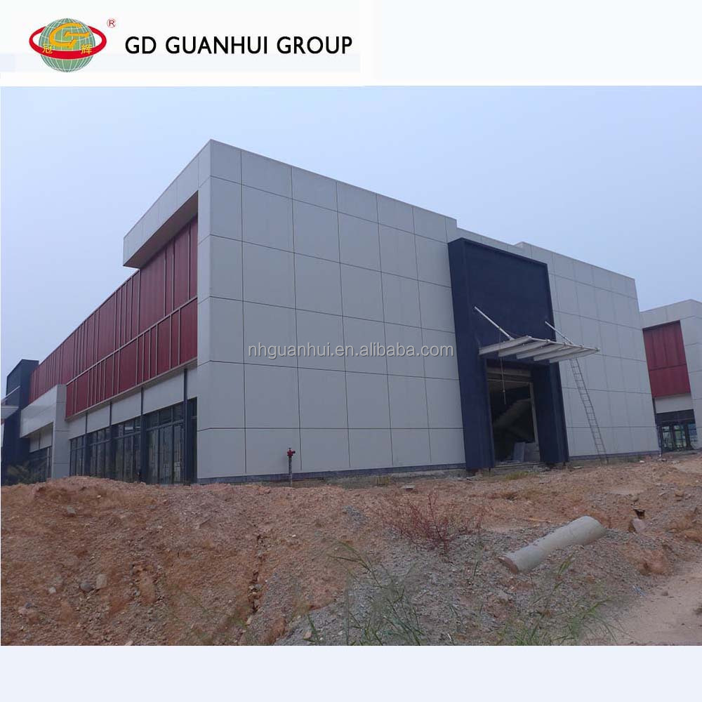 Durable hot dip galvanizing Q345 column Z purlin steel office