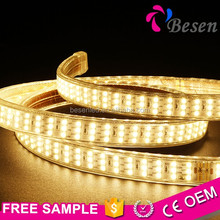 2400k Warm White Lighting 2700k Flexible 220v 20w 240v 3014 Smd 4014 100meter 230v Ac 100m/roll Led Strip Light 220-240v