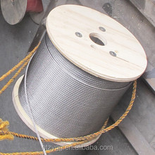 7x7 steel wire rope with plastic cover,7x19 pvc coated aircraft cable
