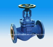 DIN Cast Steel Bellow Globe Valve, PN16/25/40