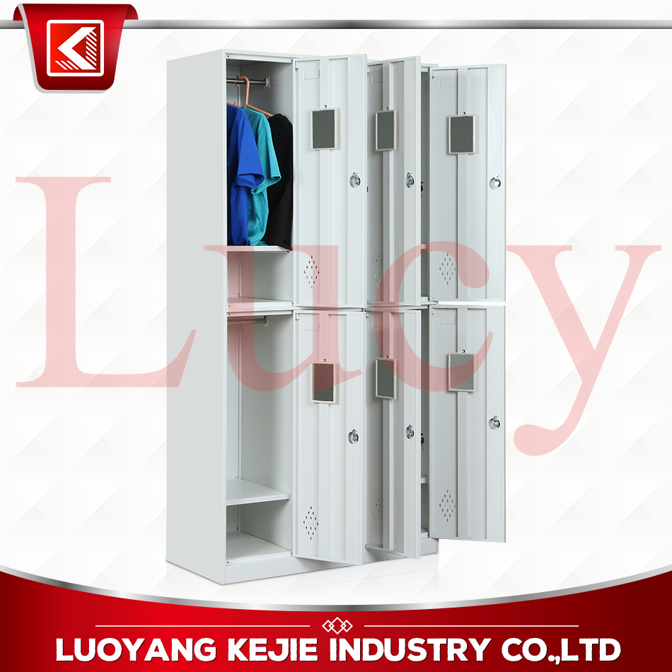 Top Quality Metal <strong>Lockers</strong> Changing Room with Air <strong>Locker</strong> Differntial 6 Door Gym <strong>Lockers</strong> for sale