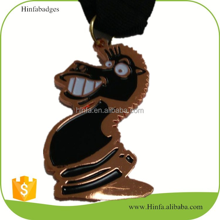 Promotional Gift Hot Selling Customized Enamel Kids Medals