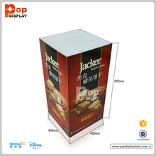 Biscuits corrugated cardboard pallet display dump bins