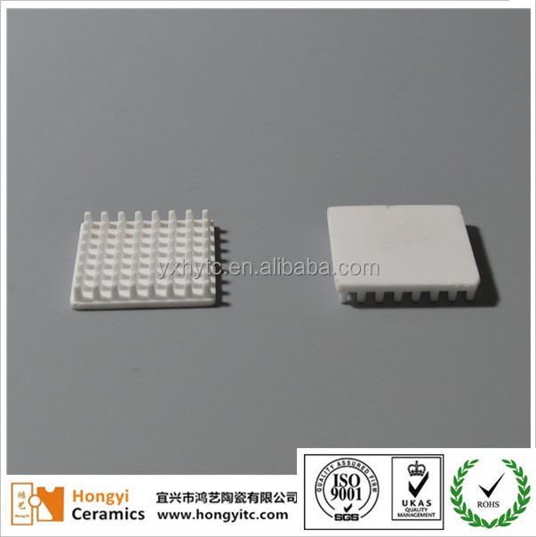 ceramic heatsink for the transistor
