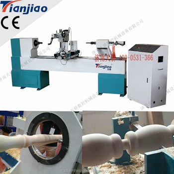 High Quality Automatic CNC Wood Turning Lathe TJ-1530 CNC Woodworking Lathe For Sale