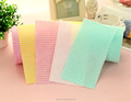 Disposable nonwoven soft facial wiper roll