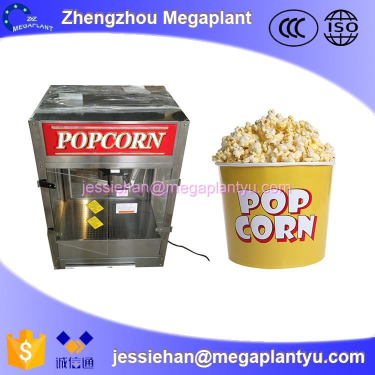 popping for popcorn machine