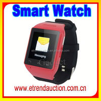 2015 Hot Selling Smart Watch Touch Screen Bluetooth Watch For Mobile Phone