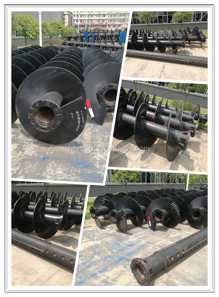 CFA Continuous Flight Auger Drill Pipe