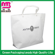 Promotional Design Fancy Grocery Logo Printed Popular Paper Hand Shopping Bag